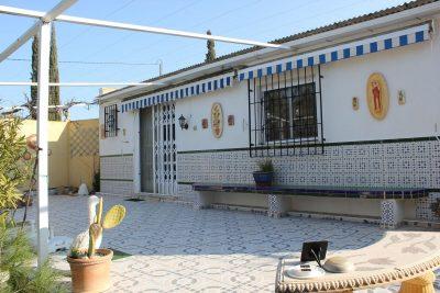 Huis terras